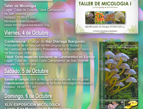 Resumen XLIV Semana Micológica